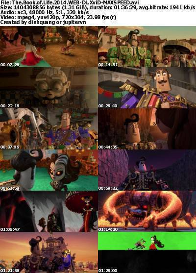 The Book of Life (2014) WEB-DL XviD-MAXSPEED