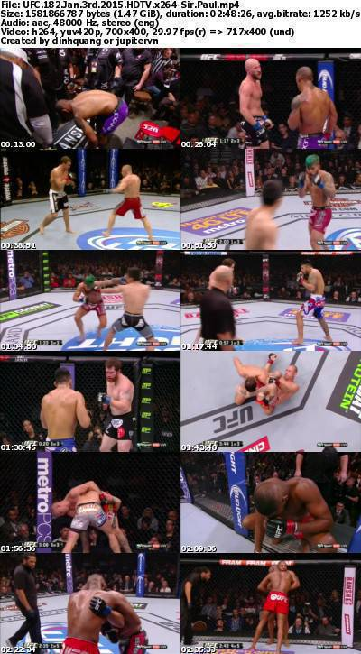 UFC 182 Jan 3rd 2015 HDTV x264-Sir Paul