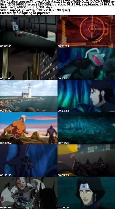 Justice League Throne of Atlantis (2015) 720p WEB-DL XviD AC3-RARBG