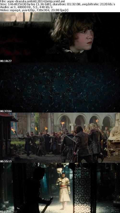 Dracula Untold 2014 BRRip XviD AC3-AQOS