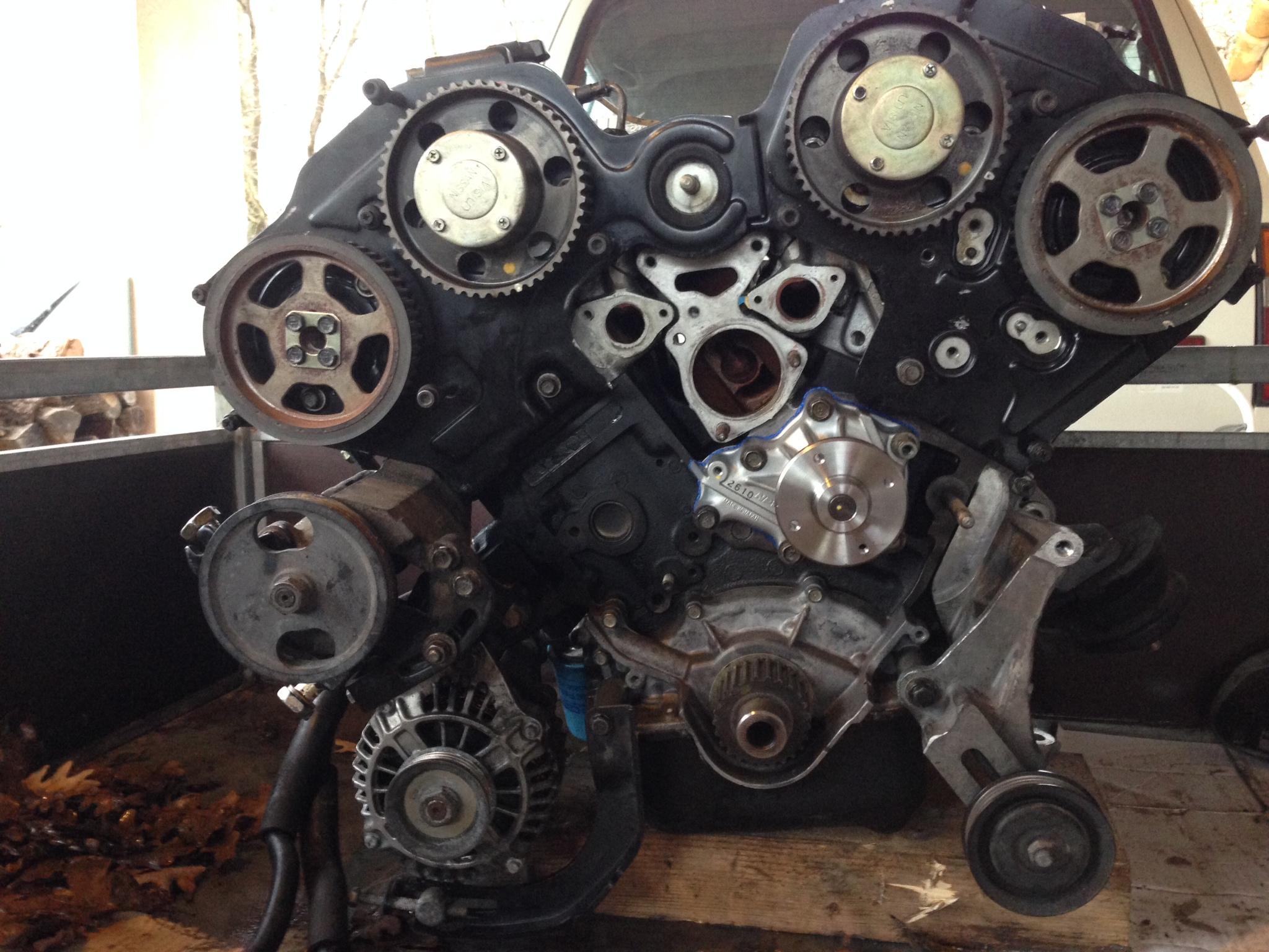 300zx z32  r u00e9novation moteur