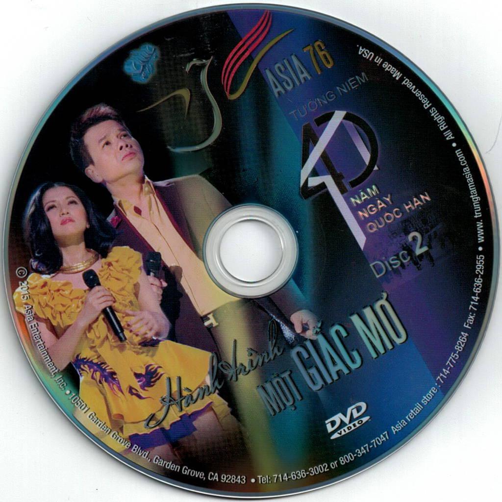 Asia 76 - Hành Trình Một Giấc Mơ Bluray-Disc ISO/DVD5/DVD9/DVDRip