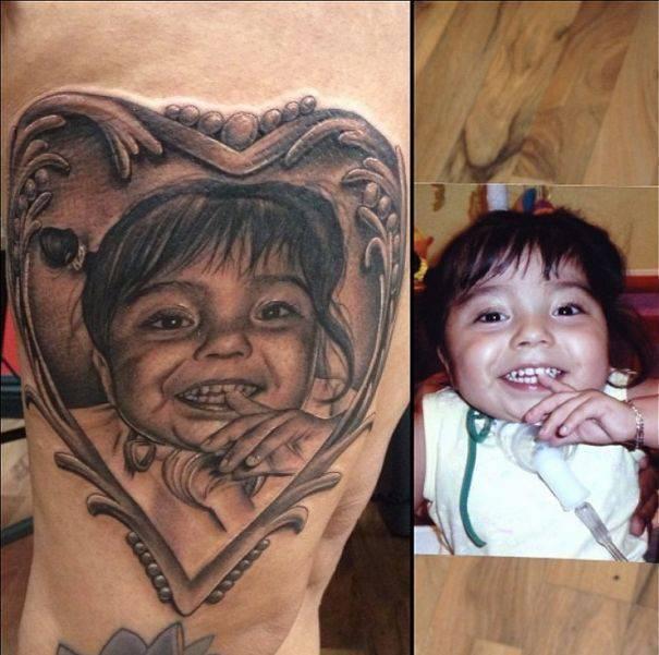 Realistyczne tatuaże #3 4