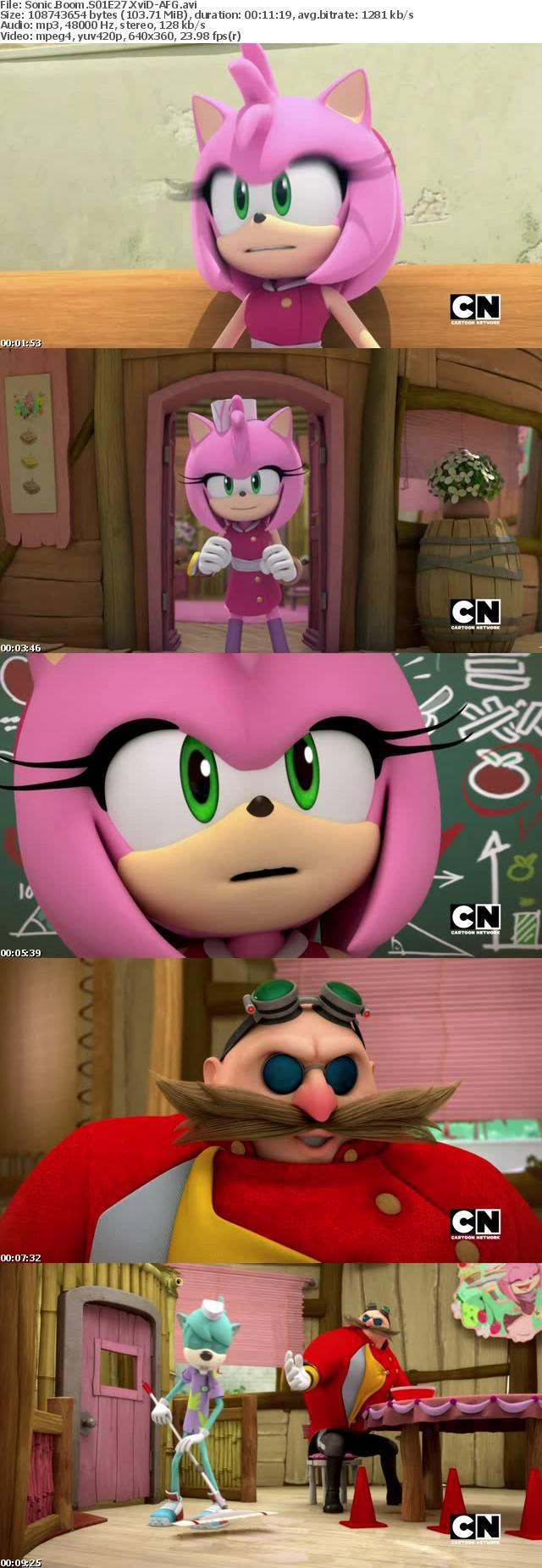 Sonic Boom S01E27 XviD-AFG