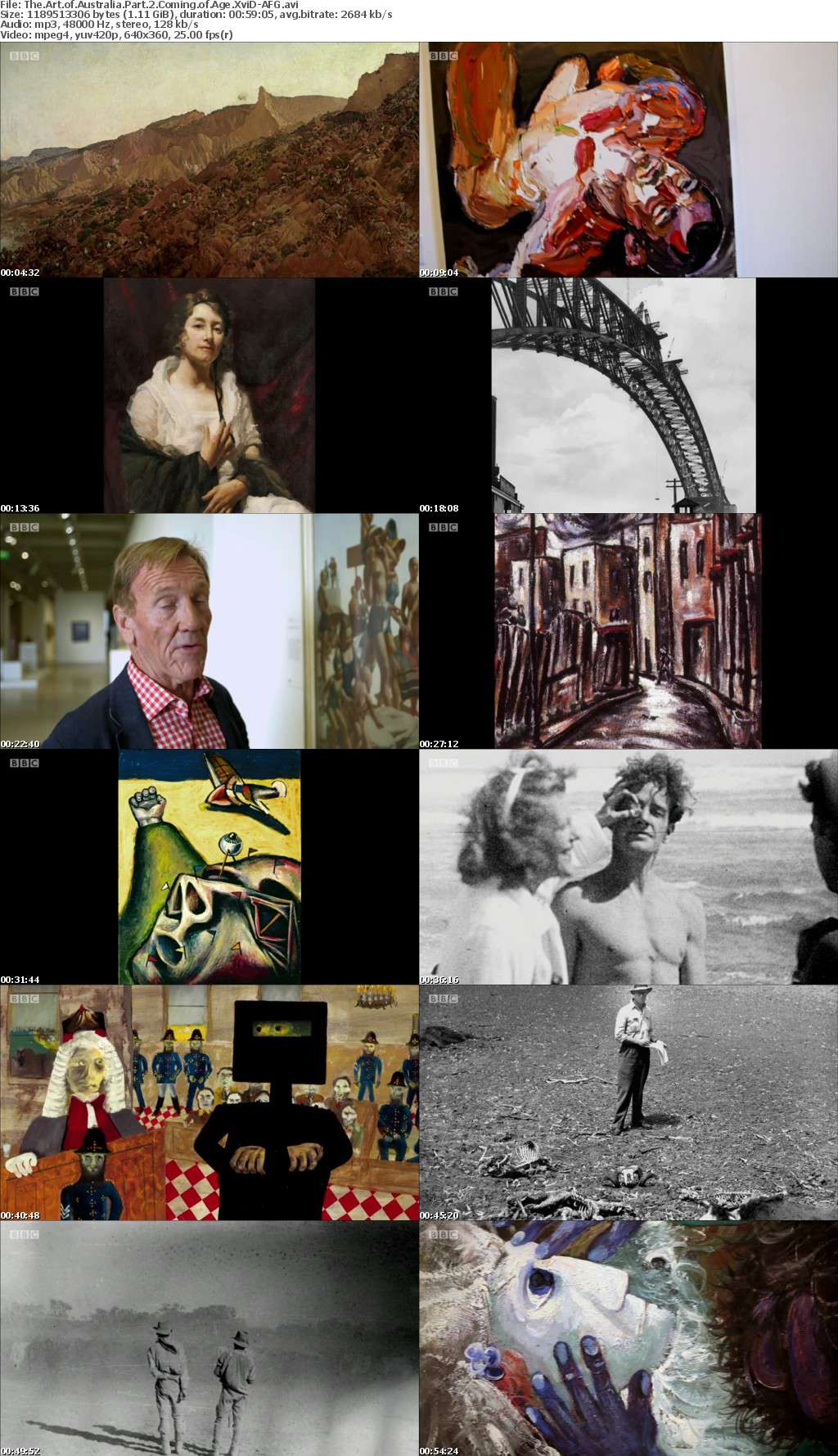 The Art of Australia Part 2 Coming of Age XviD-AFG