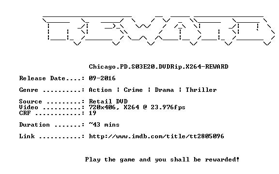 Chicago PD S03E20 DVDRip X264-REWARD