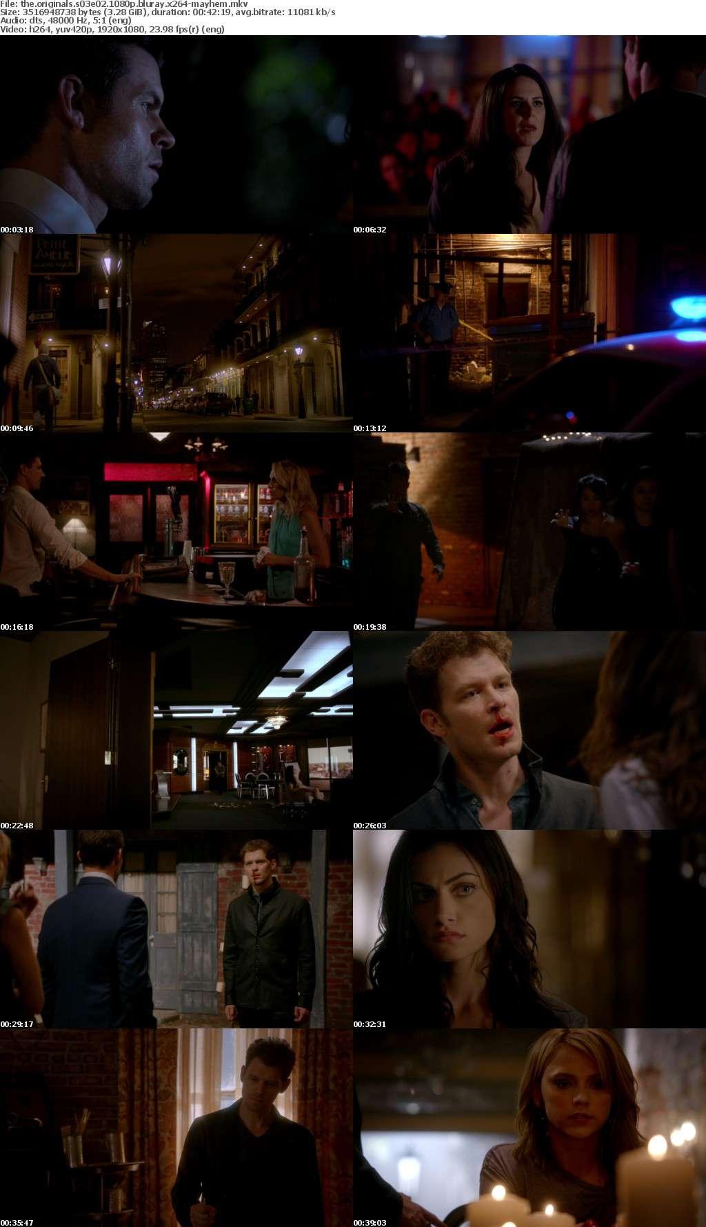 The Originals S03E02 1080p BluRay x264-MAYHEM