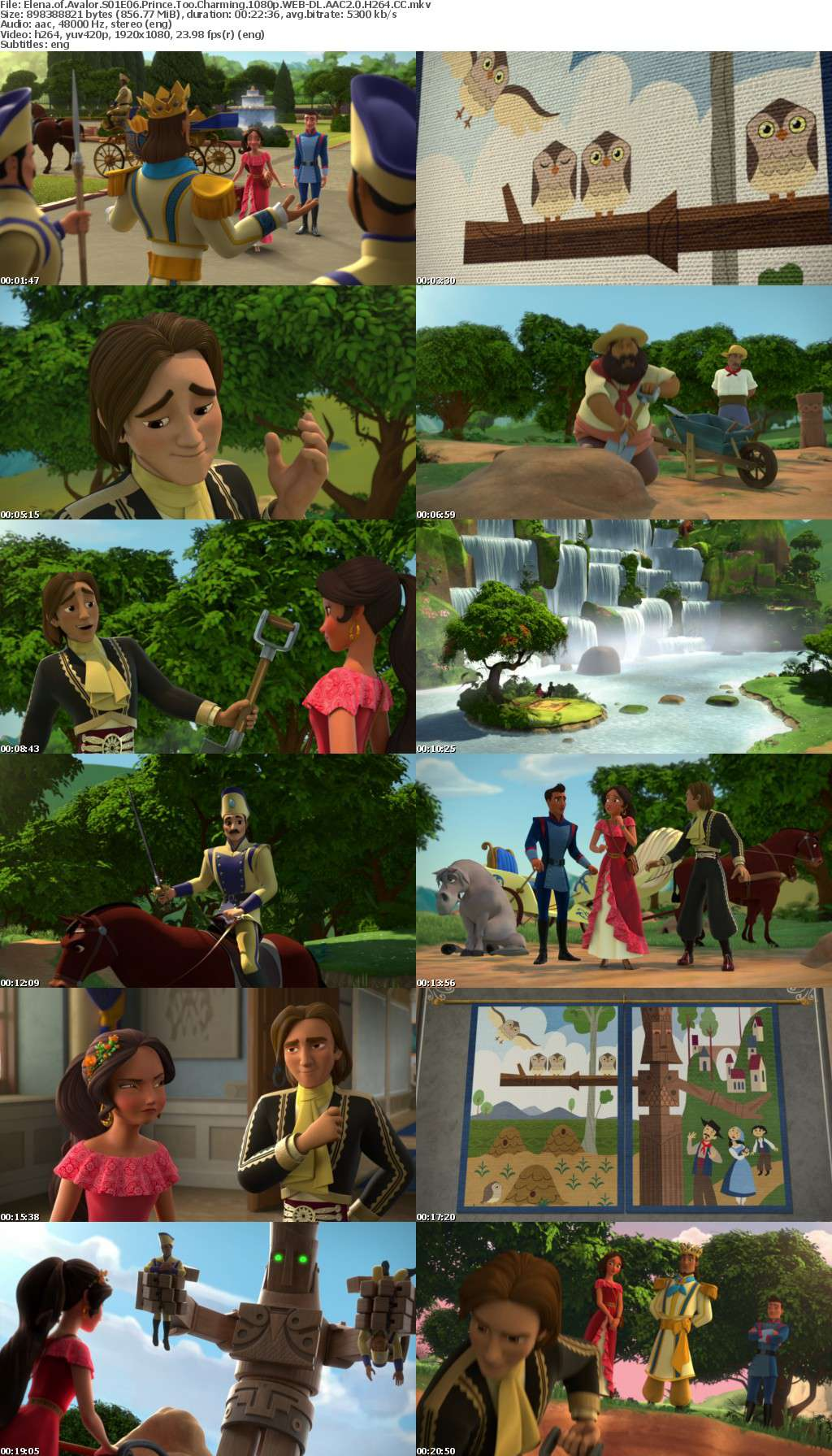 Elena of Avalor S01E06 Prince Too Charming 1080p WEB-DL AAC2 0 H264 CC