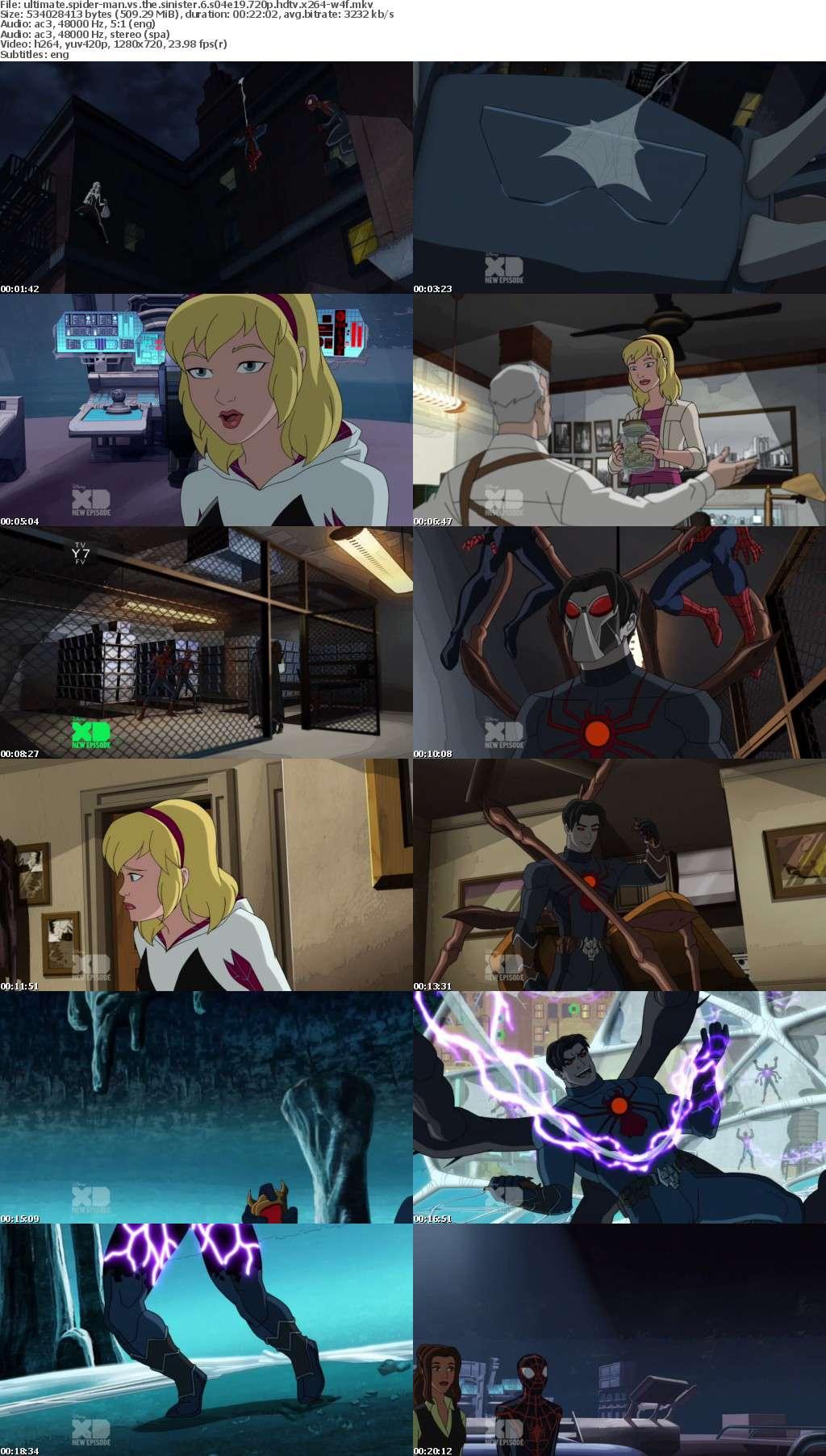 Ultimate Spider-Man vs the Sinister 6 S04E19 720p HDTV x264-W4F