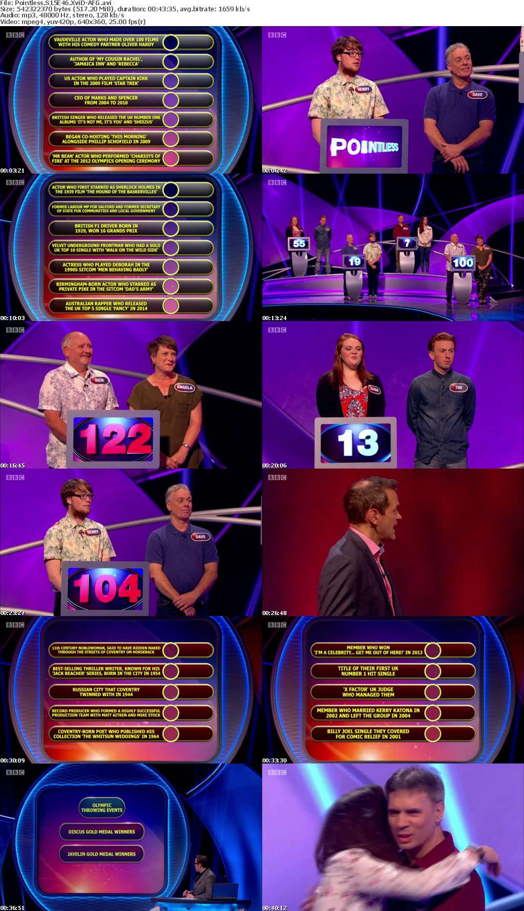 Pointless S15E46 XviD-AFG