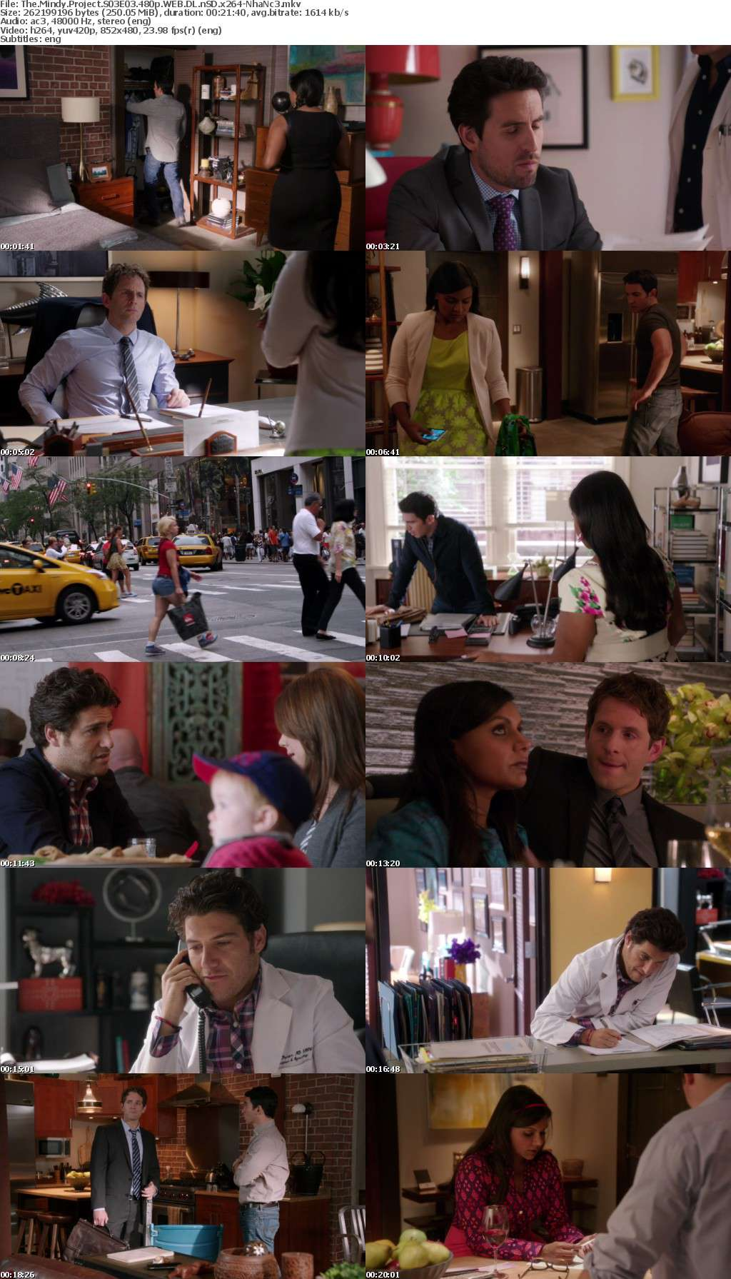 The Mindy Project S01-S04 480p WEB DL nSD x264-NhaNc3