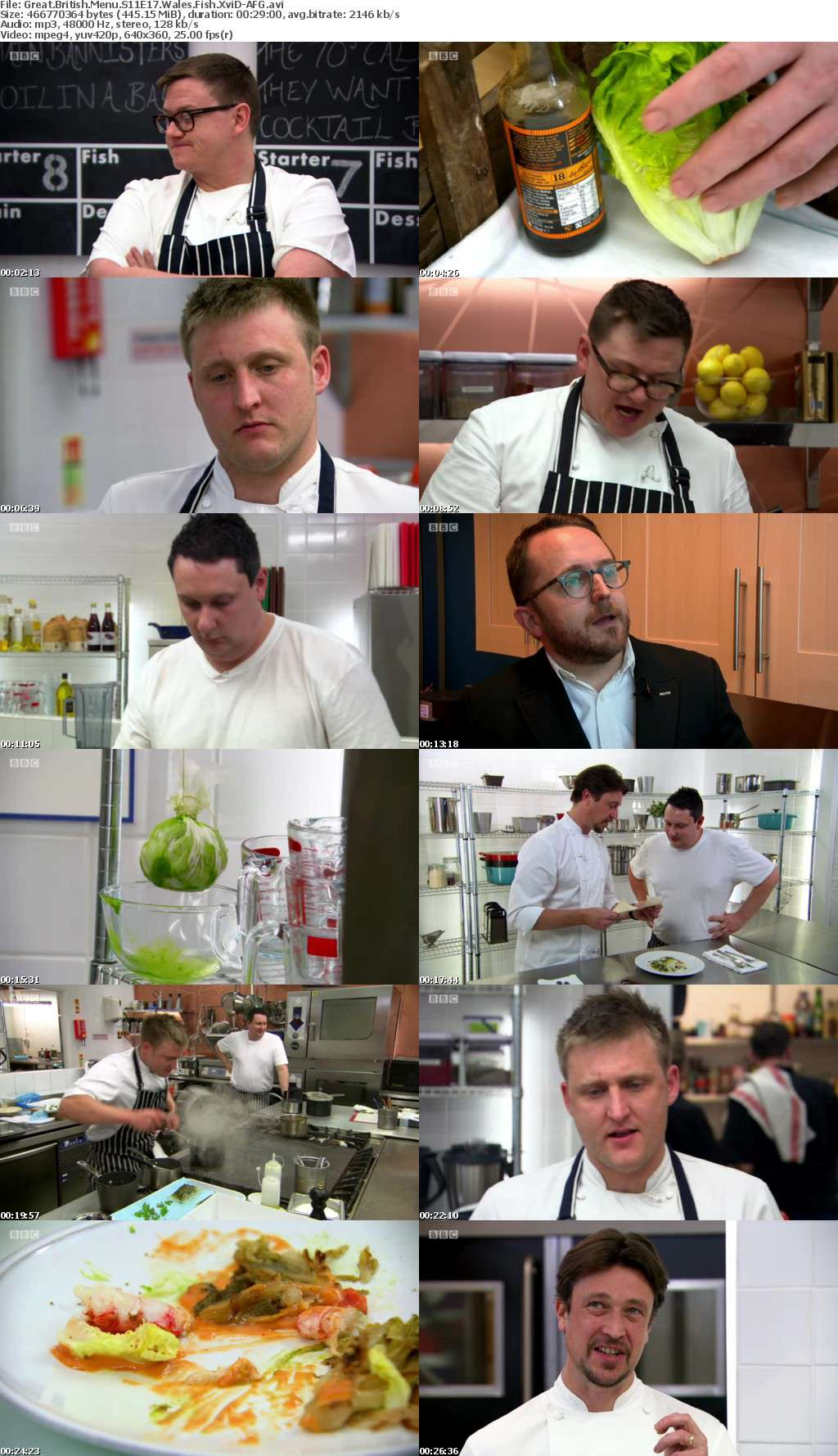 Great British Menu S11E17 Wales Fish XviD-AFG