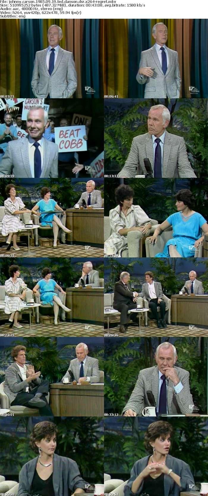 Johnny Carson 1985 09 19 Ted Danson DSR x264-REGRET