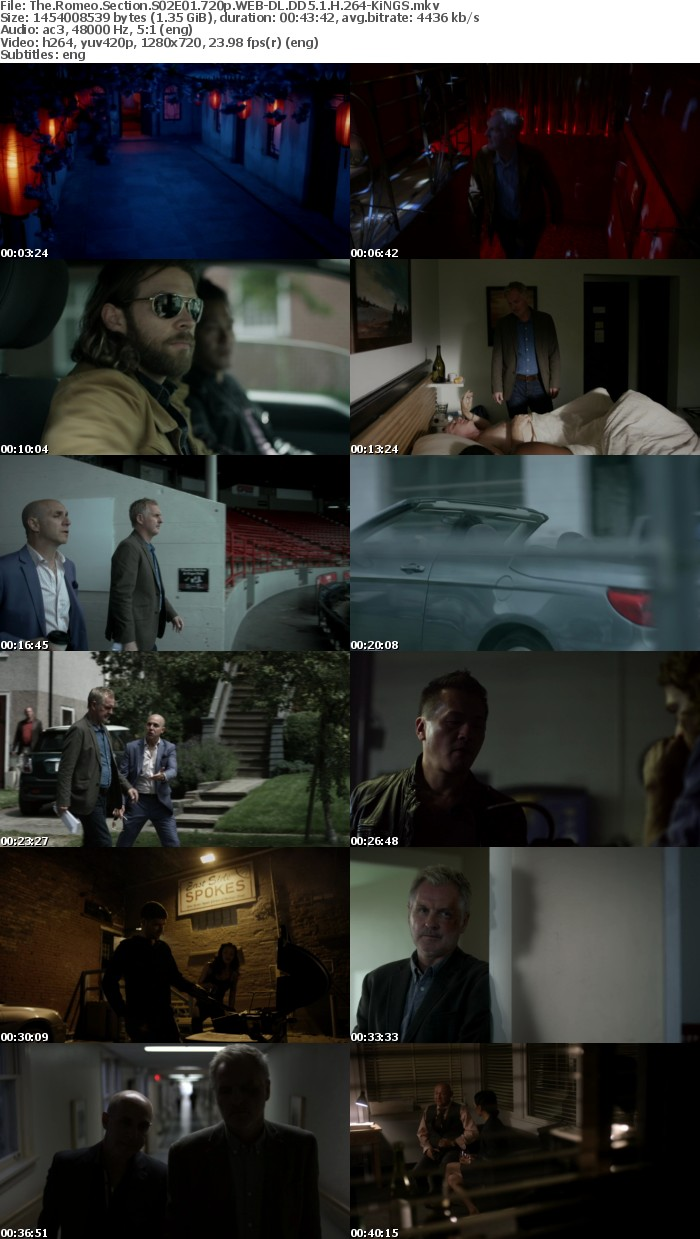 The Romeo Section S02E01 720p WEB-DL DD5 1 H 264-KiNGS