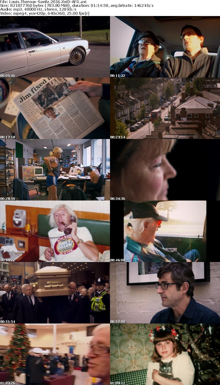 Louis Theroux-Savile 2016 XviD-AFG