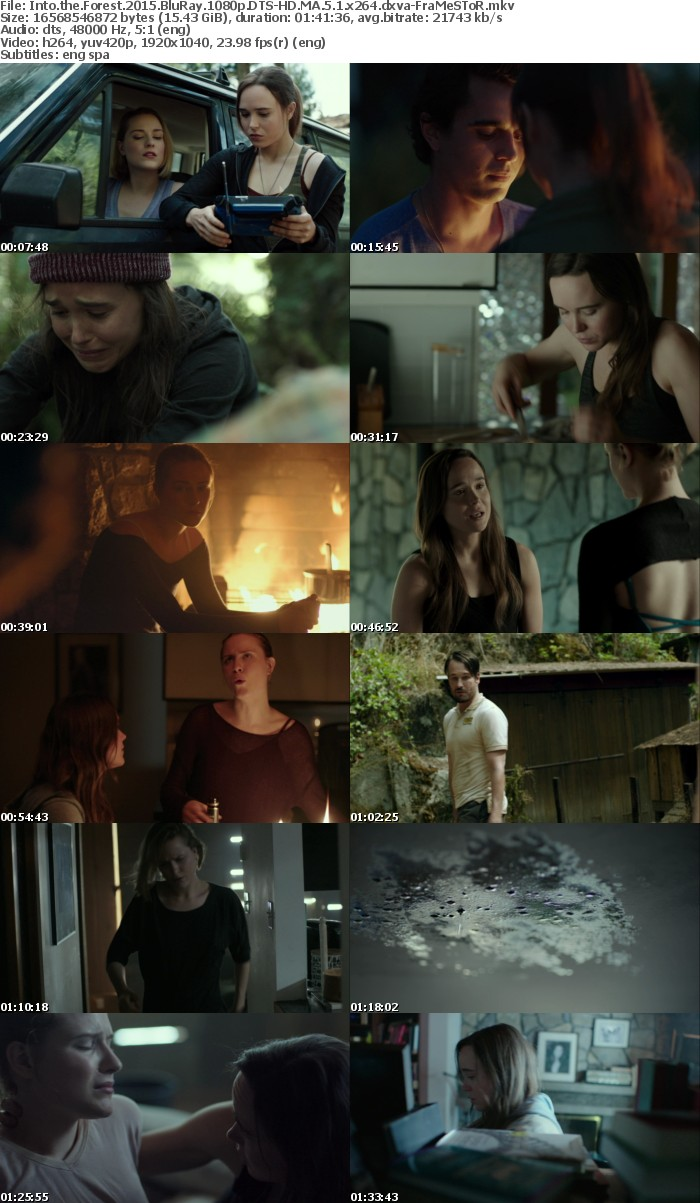 Into the Forest 2015 BluRay 1080p DTS-HD MA 5 1 x264 dxva-FraMeSToR