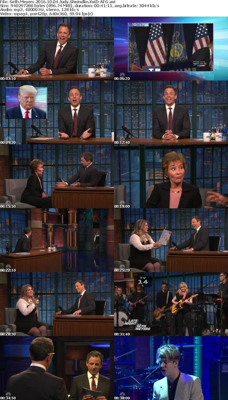 Seth Meyers 2016 10 04 Judy Sheindlin XviD-AFG