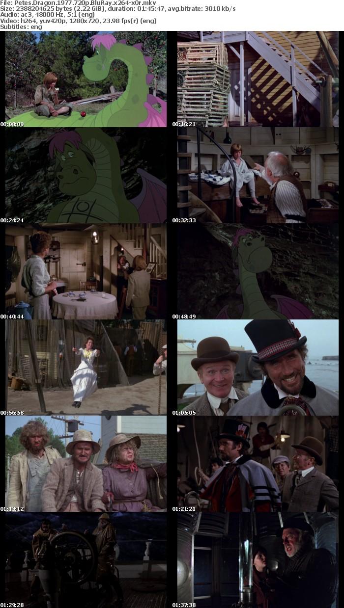 Petes Dragon 1977 720p BluRay x264-x0r