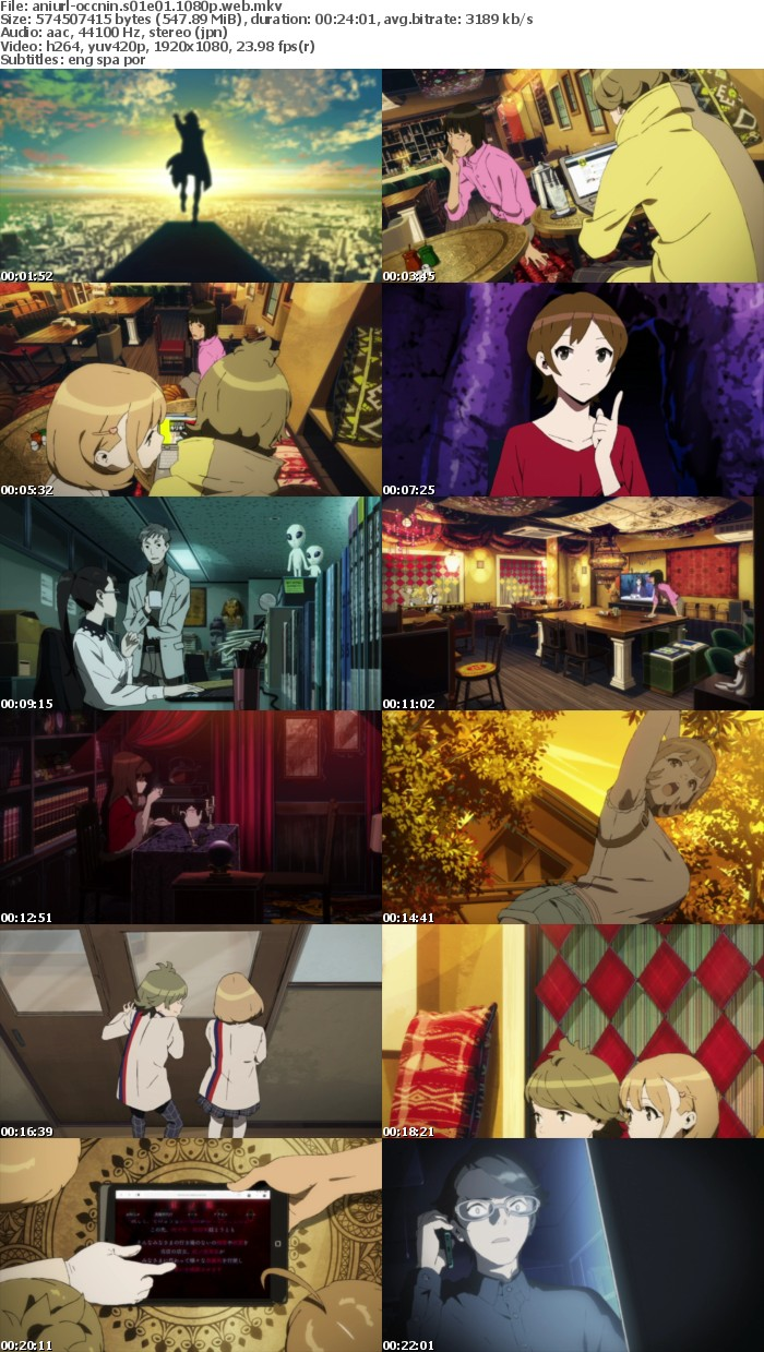 Occultic Nine S01E01 1080p WEB x264-ANiURL