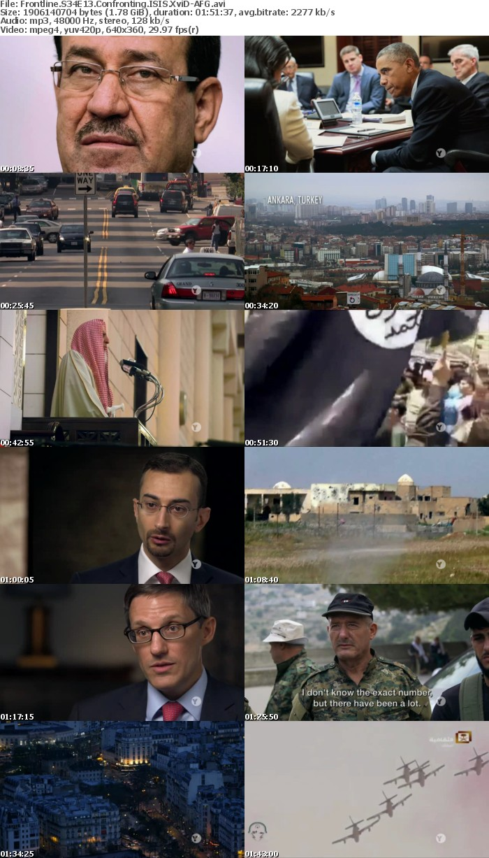 Frontline S34E13 Confronting ISIS XviD-AFG