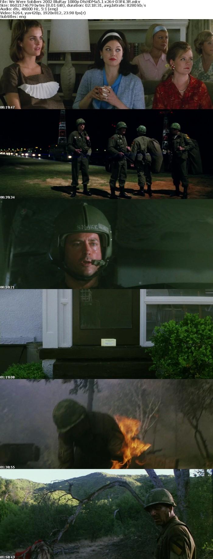 We Were Soldiers 2002 BluRay 1080p DtsHDMa6 1 x264-D3FiL3R