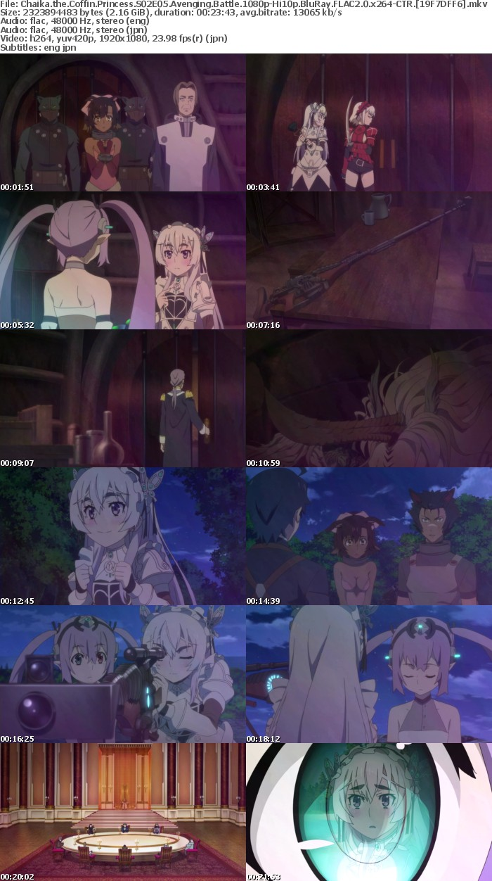 [CTR] Chaika the Coffin Princess S02 Avenging Battle (Hitsugi no Chaika) OVA [1080p-Hi10p BluRay FLAC 2 0-x264]