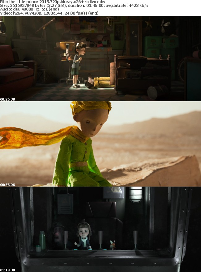 The Little Prince 2015 720p BluRay x264-RCDiVX