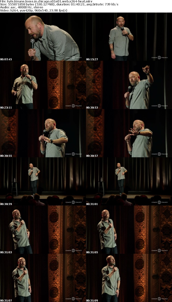 Kyle Kinane Loose in Chicago S01E01 WEB x264-HEAT