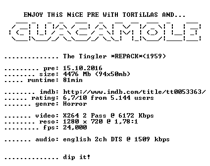 The Tingler 1959 720p BluRay x264 REPACK-GUACAMOLE
