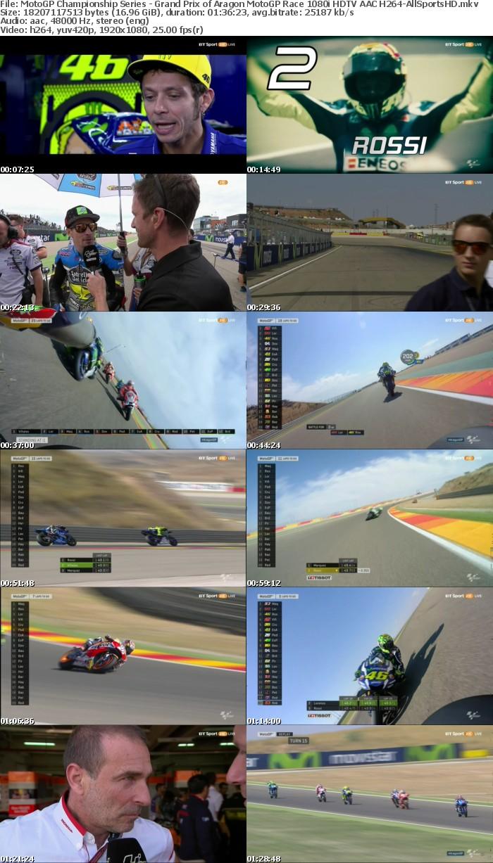 MotoGP Championship Series - Grand Prix of Aragon MotoGP Race 1080i HDTV AAC H264-AllSportsHD