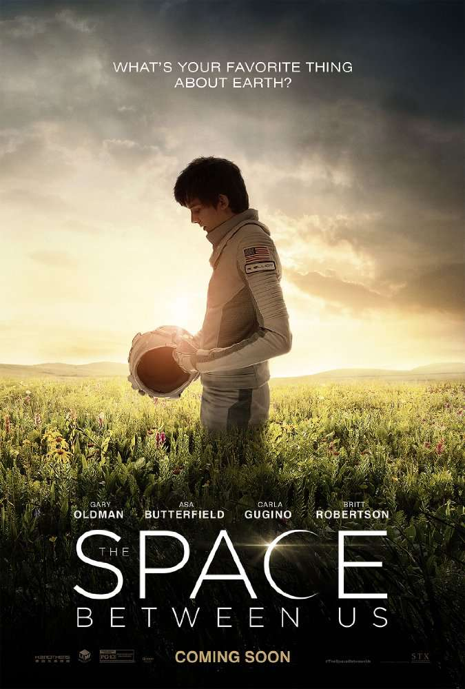 The Space Between Us 2017  BRRip x265 HEVC 2CHMRN