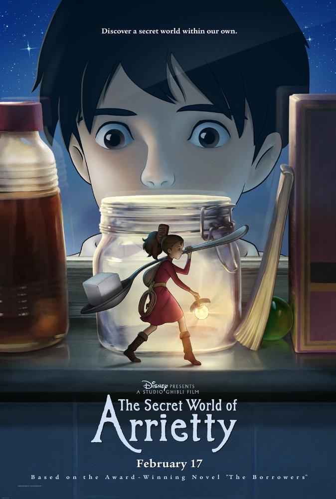 The Secret World of Arrietty 2010 Disney  HDrip X264 Solar