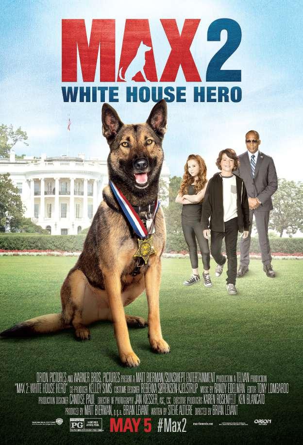 Max 2 White House Hero 2017  BRRip 750MB  MkvCage