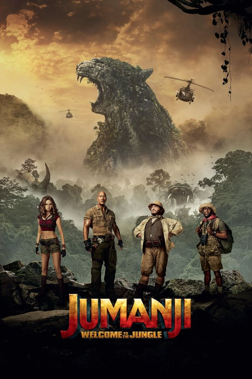 Jumanji Welcome to the Jungle 2017 DVDR-JFKDVD