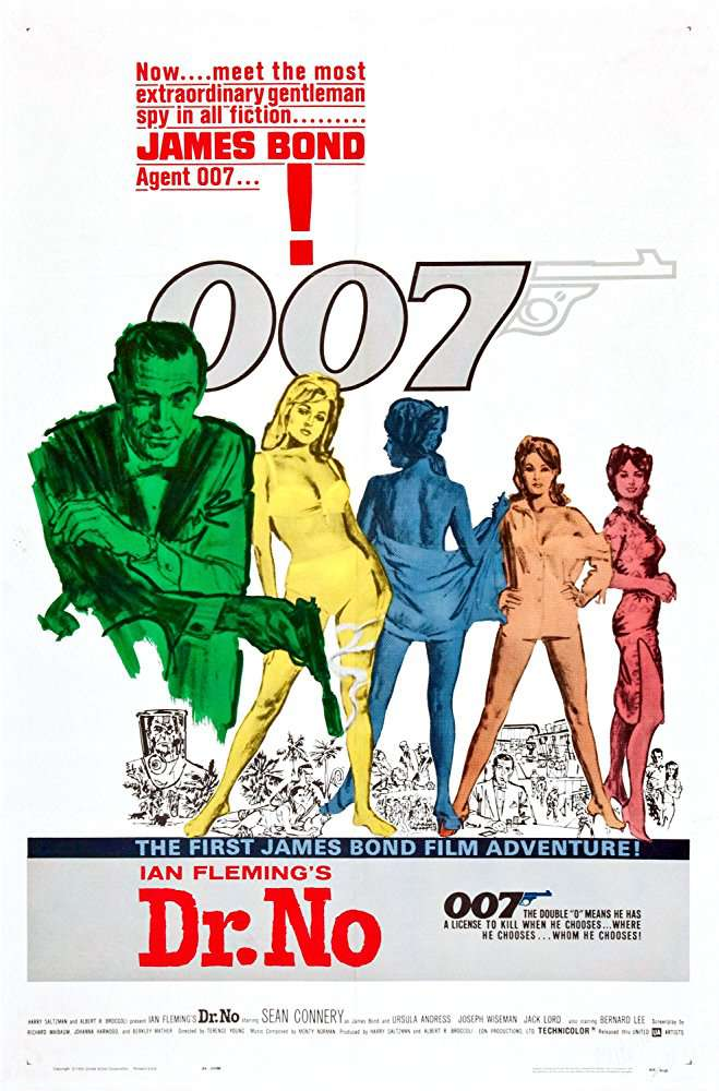 James Bond 007: Dr No 1962 720p BluRay x264 x0r