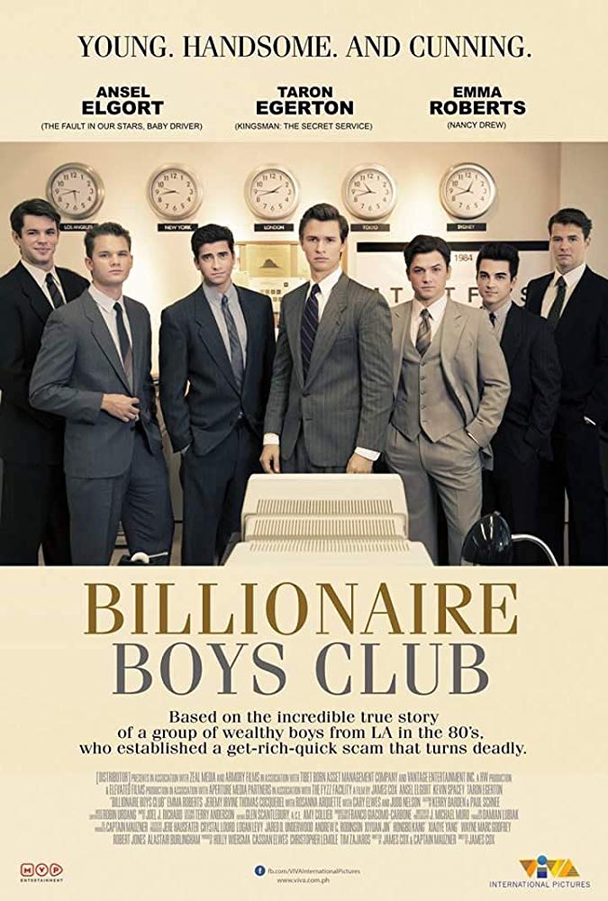 Billionaire Boys (2018) 720p WEB-DL x264 850MB ESubs - MkvHub