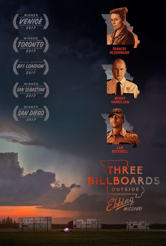 Three Billboards Outside Ebbing, Missouri (2017) [BluRay] [720p] YIFY