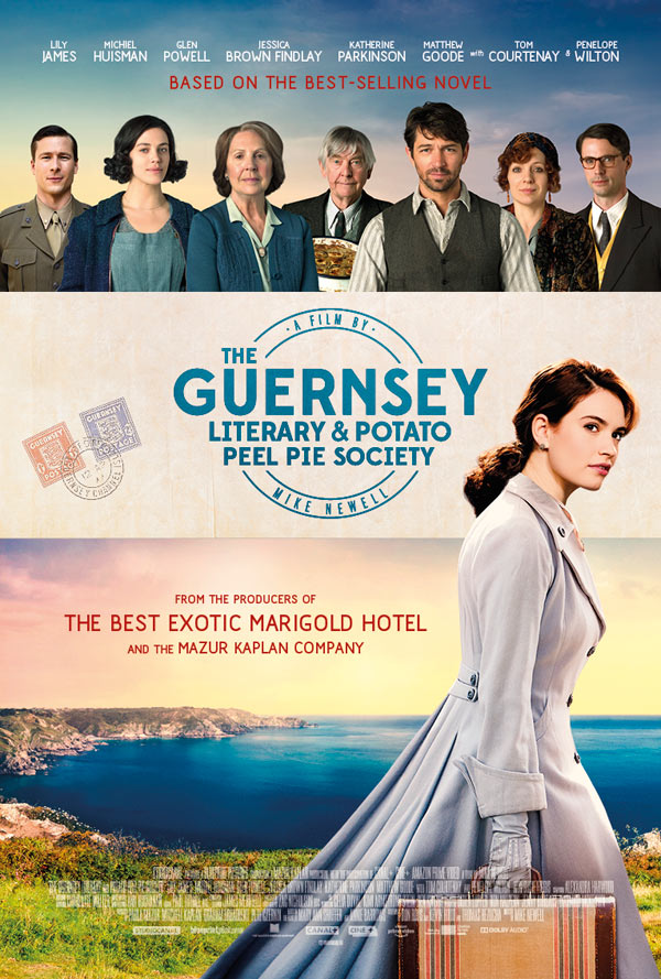 The Guernsey Literary and Potato Peel Pie Society 2018 720p BRRip 900 MB - iExTV