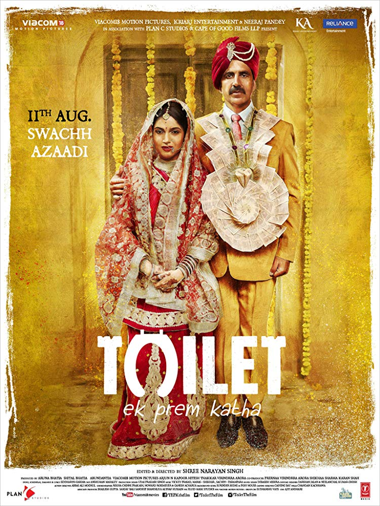 Toilet Ek Prem Katha (2017) BluRay 720p Hindi H264 TrueHD 5 1 - LatestHDMovies Exclusive mkv