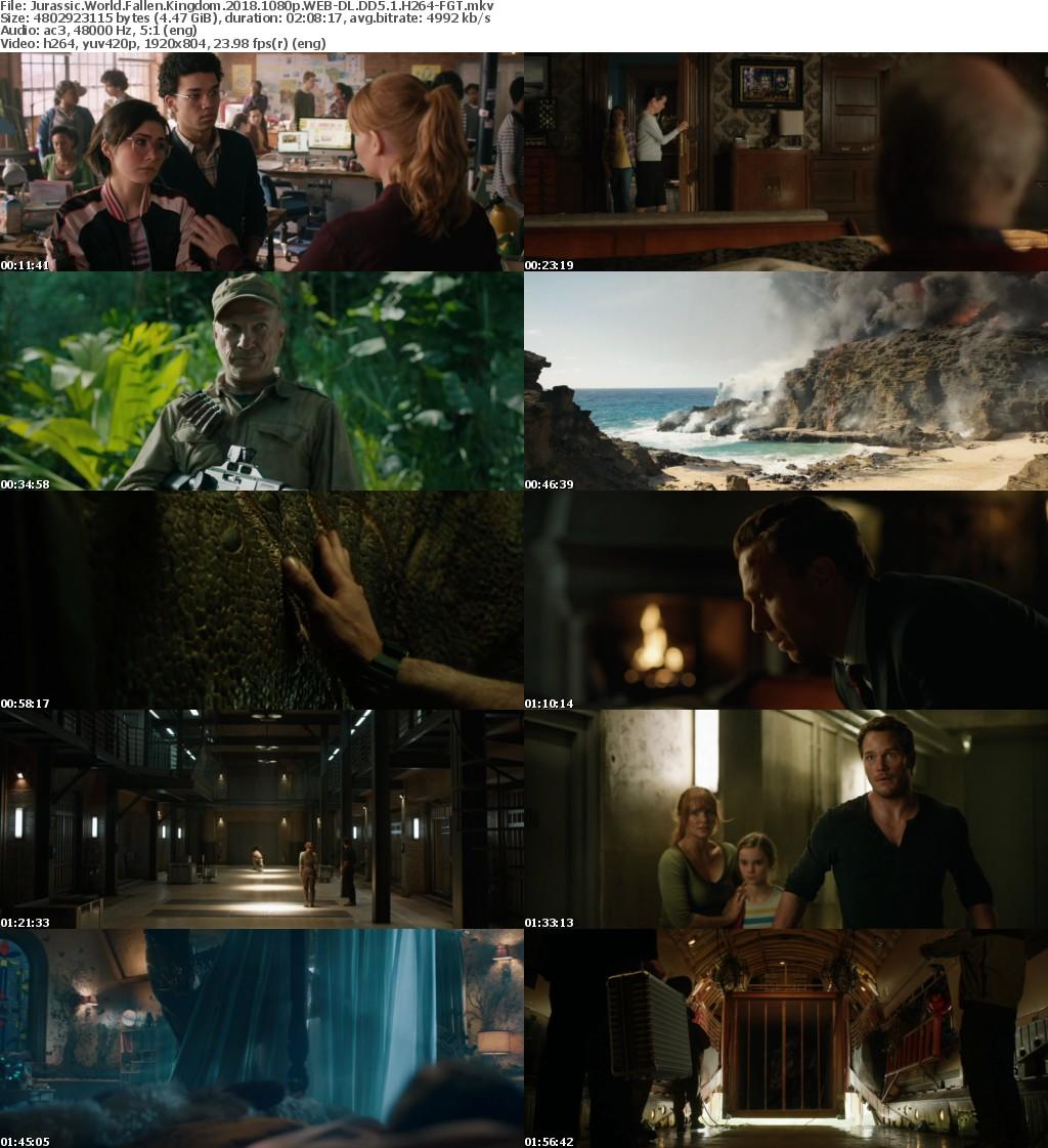 Jurassic World Fallen Kingdom (2018) 1080p WEB-DL DD5.1 H264-FGT