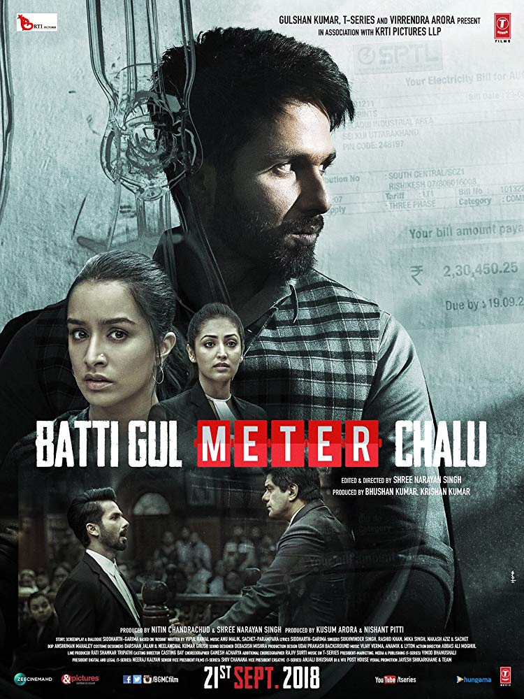 Batti Gul Meter Chalu 2018 Hindi 480p PreDVDRip x264 AAC - xRG