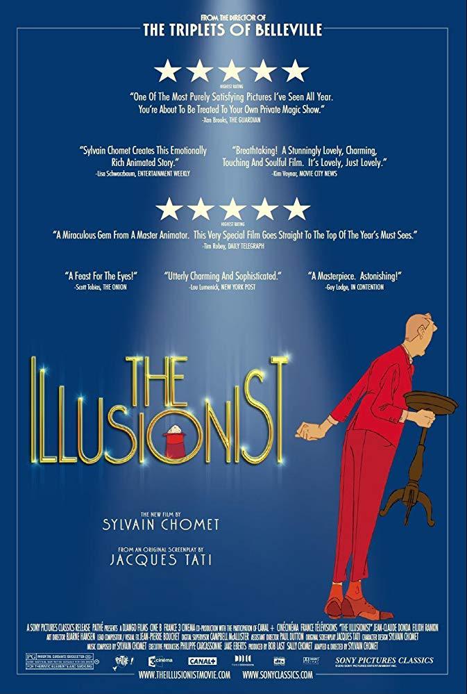 The Illusionist (2010) 720p BluRay H264 AAC-RARBG