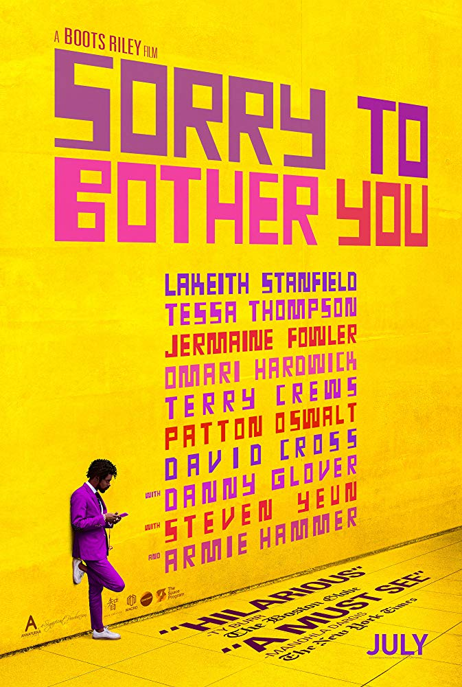 Sorry to Bother You 2018 BluRay 10Bit 1080p DD5 1 H265-d3g