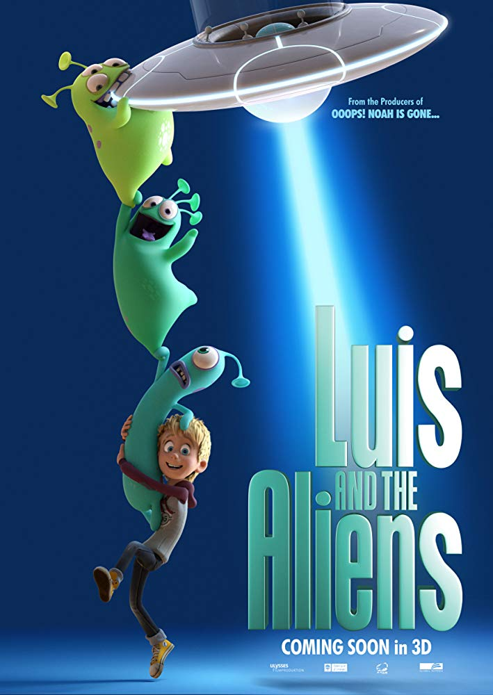 Luis And The Aliens (2018) 1080p BluRay x264-SNOW