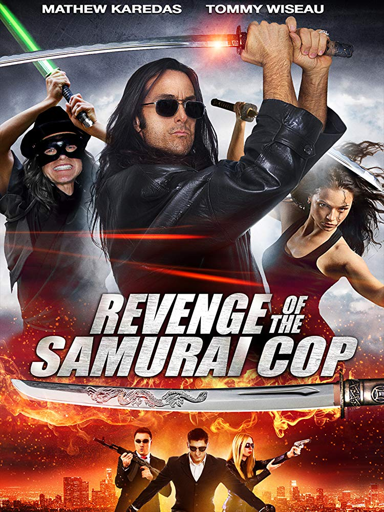 Revenge of the Samurai Cop (2017) HDRip XViD-ETRG