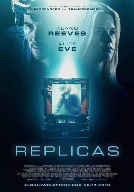 Replicas (2018) HDCAM XViD AC3-ETRG