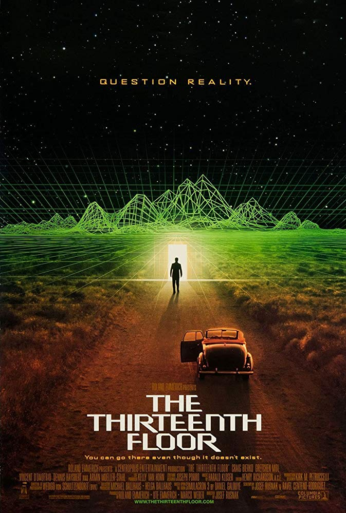 The Thirteenth Floor (1999) 720p BRRip x264 AAC-ETRG