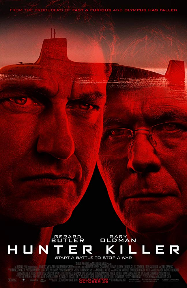 Hunter Killer 2018 HDCAM XViD AC3-ETRG