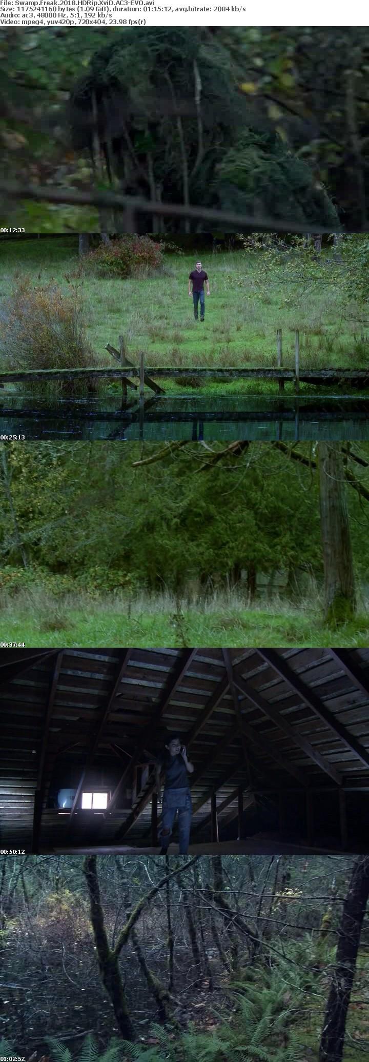 Swamp Freak 2018 HDRip XviD AC3-EVO