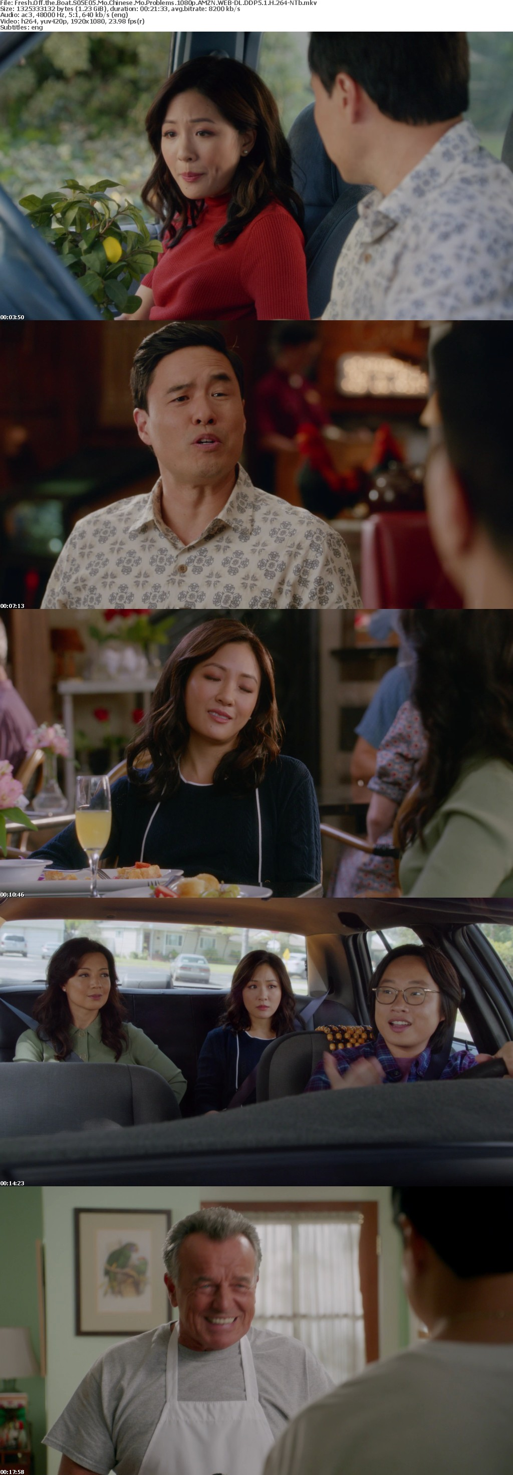 Fresh Off the Boat S05E05 Mo Chinese Mo Problems 1080p AMZN WEB-DL DDP5 1 H 264-NTb